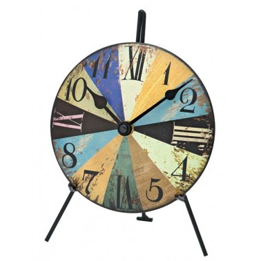 Montre de table colorée