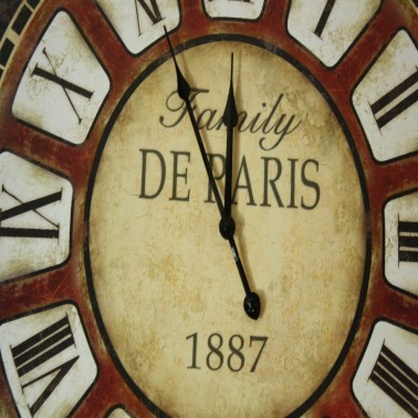 Horloge Family de Paris 1887 dia 58