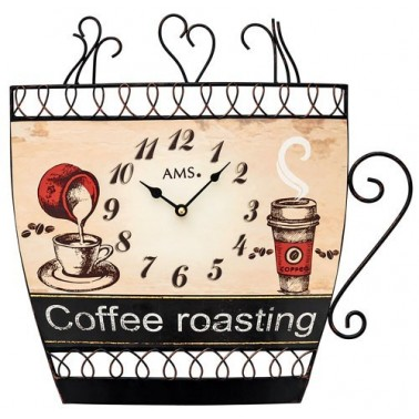 Horloge Coffee Roasting